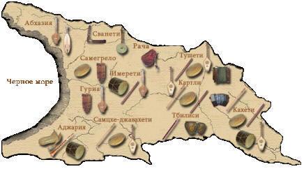 народные инструменты кавказа