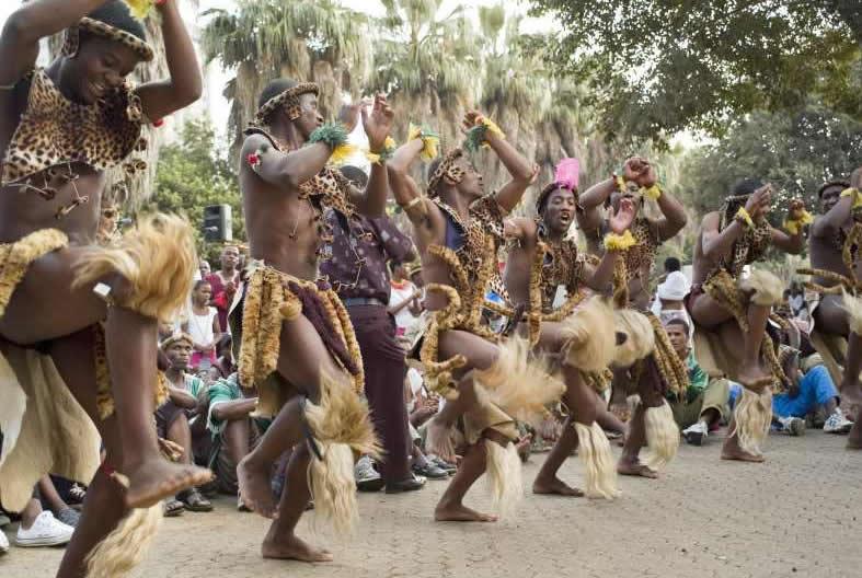 Танцы народов Африки